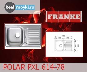 Кухонная мойка Franke POLAR PXL 614-78