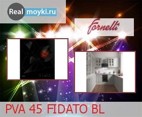 Варочная поверхность Fornelli PVA 45 FIDATO BL