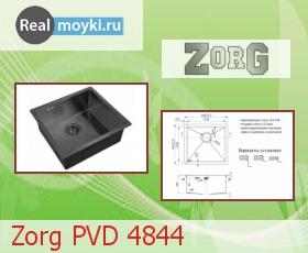 Кухонная мойка Zorg PVD 4844