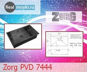Кухонная мойка Zorg PVD 7444