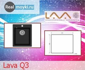 Кухонная мойка Lava Q3