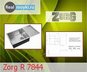 Кухонная мойка Zorg R 7844