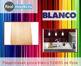 Аксессуар Blanco 514651 из бука