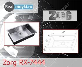 Кухонная мойка Zorg RX-7444