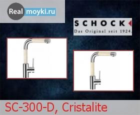 Кухонный смеситель Schock SC-300-D, Cristalite