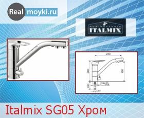 Кухонный смеситель Italmix SG05 Хром