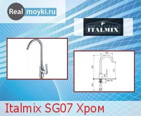 Кухонный смеситель Italmix SG07 Хром