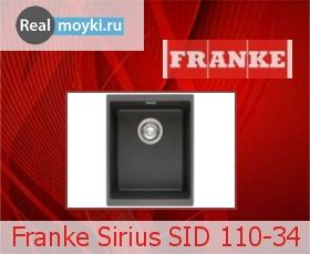 Кухонная мойка Franke Sirius SID 110-34