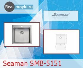 Кухонная мойка Seaman SMB-5151
