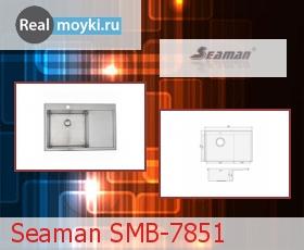 Кухонная мойка Seaman SMB-7851
