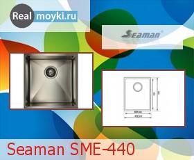 Кухонная мойка Seaman SME-440