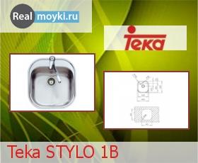 Кухонная мойка Teka Stylo 1B