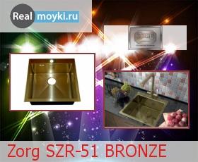 Кухонная мойка Zorg SZR-51