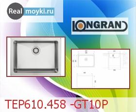 Кухонная мойка Longran TEP610.458 -GT10P