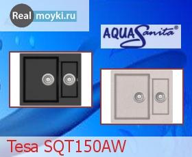 Кухонная мойка Aquasanita Tesa SQT150AW