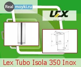 Кухонная вытяжка Lex Tubo Isola 350 Inox