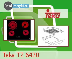 Варочная поверхность Teka TZ 6420