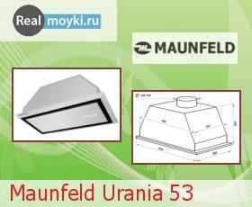 Кухонная вытяжка Maunfeld Urania 53