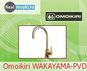 Кухонный смеситель Omoikiri Wakayama-PVD