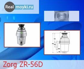 Диспоузер для кухни Zorg ZR-56D